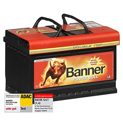 Banner Power Bull Autobatterie 12V 72Ah 660A