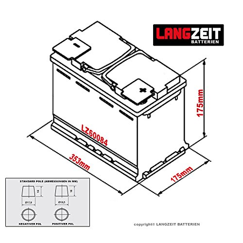 langzeit autobatterie 12v 100ah autobatterie kaufen. Black Bedroom Furniture Sets. Home Design Ideas