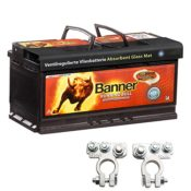Banner Vliesbatterie AGM Running Bull