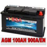 BSA PROFESSIONAL AGM Autobatterie