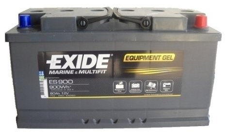 Exide Equipment Batterie Gel ES 900, 28553