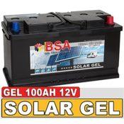 BSA Solarbatterie Gel